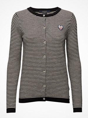 Scotch & Soda Basic Cardigan In Cotton Cashmere Blend