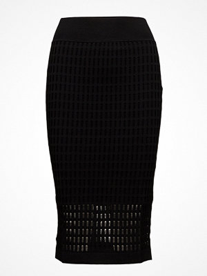 T By Alexander Wang Float Stitch Lace Skirt