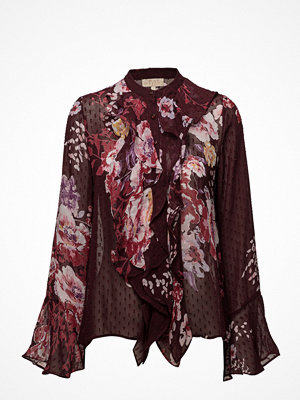 by Ti Mo Semi Couture Ruffle Blouse