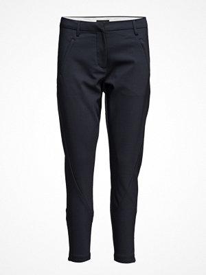 Fiveunits svarta byxor Angelie 238 Zip, Navy Jeggin, Pants