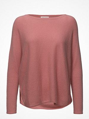 Tröjor - Davida Cashmere Curved Sweater