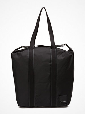 Calvin Klein Fluid Large Shopper, svart