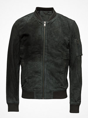 Selected Homme Shnmick Suede Bomber Jkt