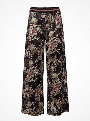 Please Jeans mönstrade byxor Wide Pants Vel