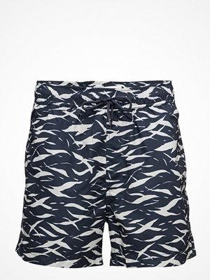 Badkläder - Samsøe & Samsøe Mason Swim Shorts Aop 6956