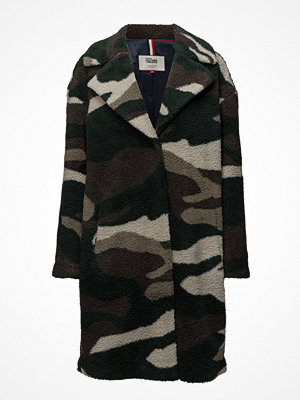 Tommy Jeans Thdw Camo Coat 45