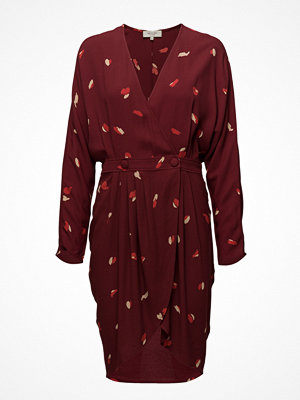 Selected Femme Sfkaleo Ls Wrap Dress Ex