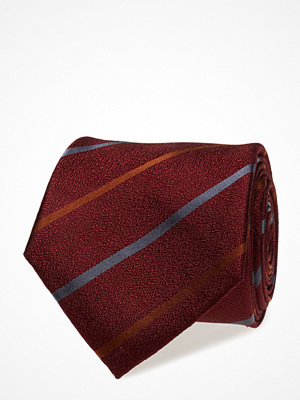 Slipsar - ATLAS DESIGN Tie Club Stripe,