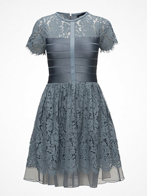French Connection Shana Spotlight Flared Lace Dress