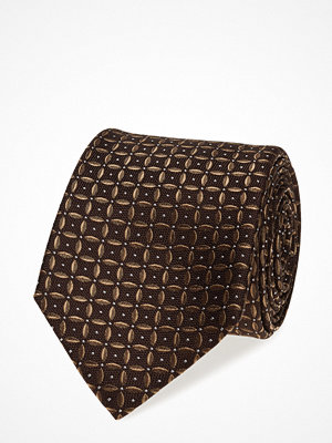 Slipsar - ATLAS DESIGN Tie Pattern Jacquard