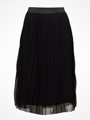 Saint Tropez Black Panter Print Skirt