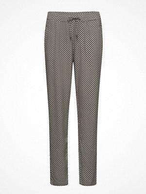 Brandtex grå mönstrade byxor Casual Pants