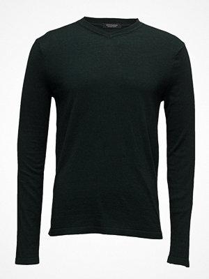 Scotch & Soda V-Neck Pullover In Soft Cotton Quality