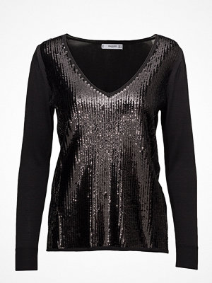 Mango Sequin Beaded Sweater