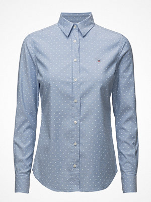 Gant Stretch Oxford Print Dot Shirt