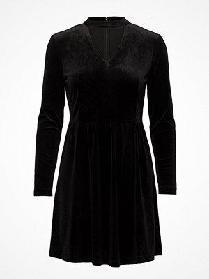 Only Onlmandy 7/8 Choker Velvet Dress Wvn