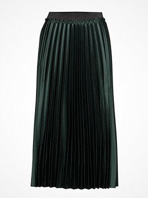 Mango Metallic Pleated Skirt