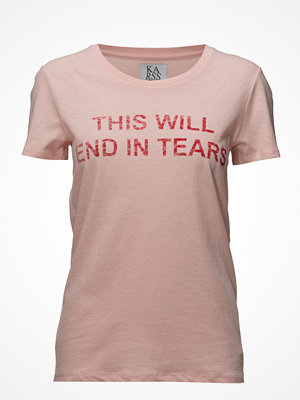 Zoe Karssen Loose Fit T-Shirt This Will End In Tears