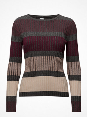 Saint Tropez Striped Knit Blouse