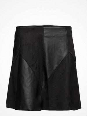 Vila Visonia Faux Leather Skirt P