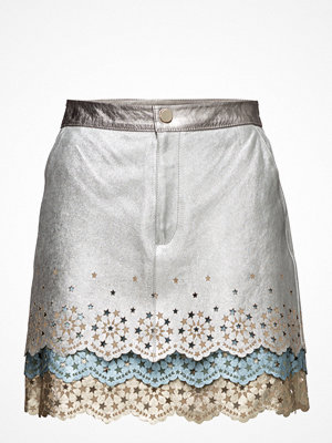 Hilfiger Collection Layered Mini Skirt