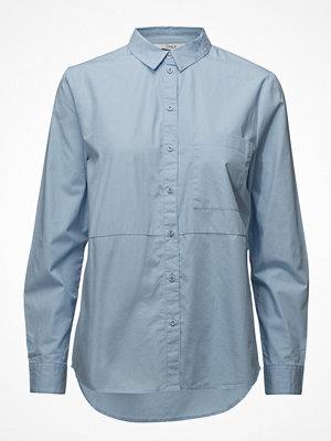 Only Onllaurette L/S Oversized Pop Shirt Wvn
