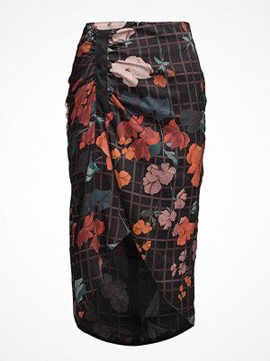 Mango Mixed Print Skirt