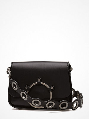 Rebecca Minkoff svart axelväska Ring Shoulder Bag