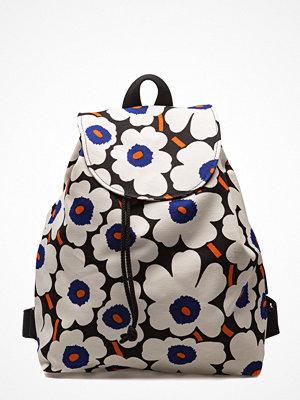 Marimekko mönstrad ryggsäck Erika Mini Unikko Backpack
