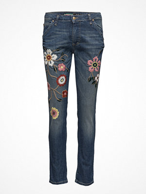 Please Jeans F Pink Flower
