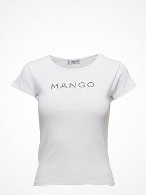 Mango Metallic Logo T-Shirt