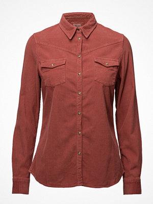 Wrangler L/S Corduroy Shirt Canyon Rose