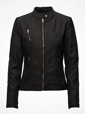 Only Onlsteady Faux Leather Jacket Cc Otw