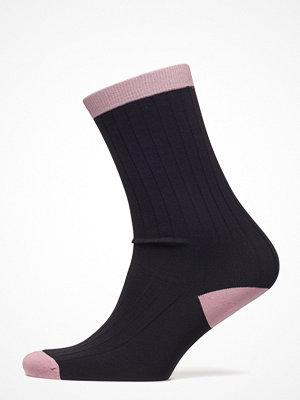 Strumpor - Ganni Classon Rib Ankle Socks