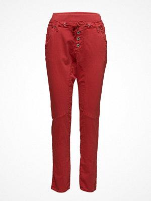 Please Jeans mörkröda byxor D Jog Dima 2608