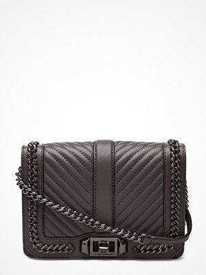 Rebecca Minkoff svart axelväska Small Love Crossbody