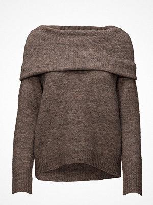 Only Onlbergen L/S Off Shoulder Pullover Knt