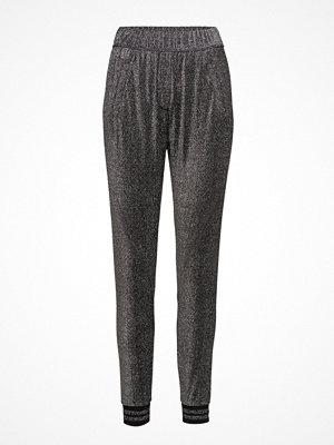 2nd One mörkgrå byxor Miley 058 Silver Glitter, Pants