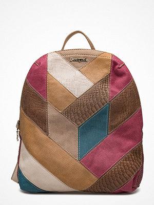 Desigual Accessories mönstrad ryggsäck Bols Talia Madeira