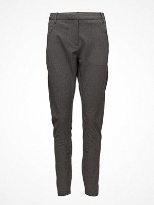 Fiveunits mörkgrå byxor Angelie 315 Grey Melange, Pants
