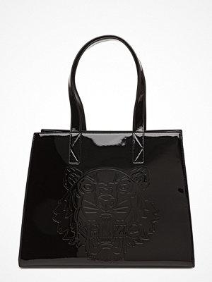Kenzo svart shopper med tryck Shopping Bag Main