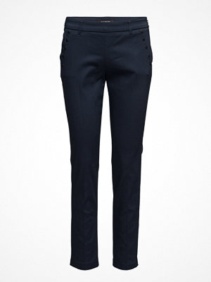 Taifun marinblå byxor Trousers Cloth Crop
