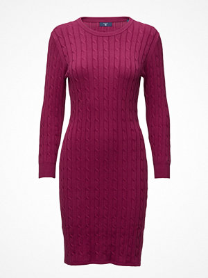 Gant Stretch Cotton Cable Dress