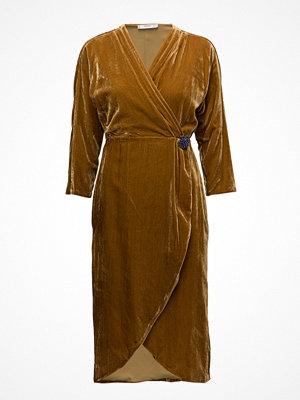 Mango Velvet Crossed Dress