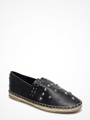 Scotch & Soda Leather Or Suede Espadrilles With Studs