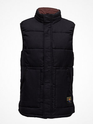 Västar - Scotch & Soda Quilted Bodywarmer In Wool Quality
