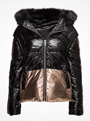 Mango Metallic Puffer Jacket