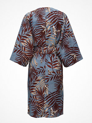 Mango Leaf Print Dress