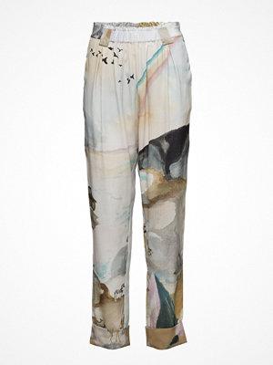 Stine Goya mönstrade byxor Rays, 237 Noah´S Ark Silk