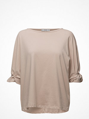 Mango Ruched Detail T-Shirt